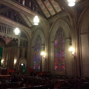 church by City Hall