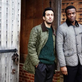 Naeem Hayat and Ladi Emeruwa share the title role in the Globe to Globe Hamlet tour. Photograph courtesy of Bronwen Sharp.
