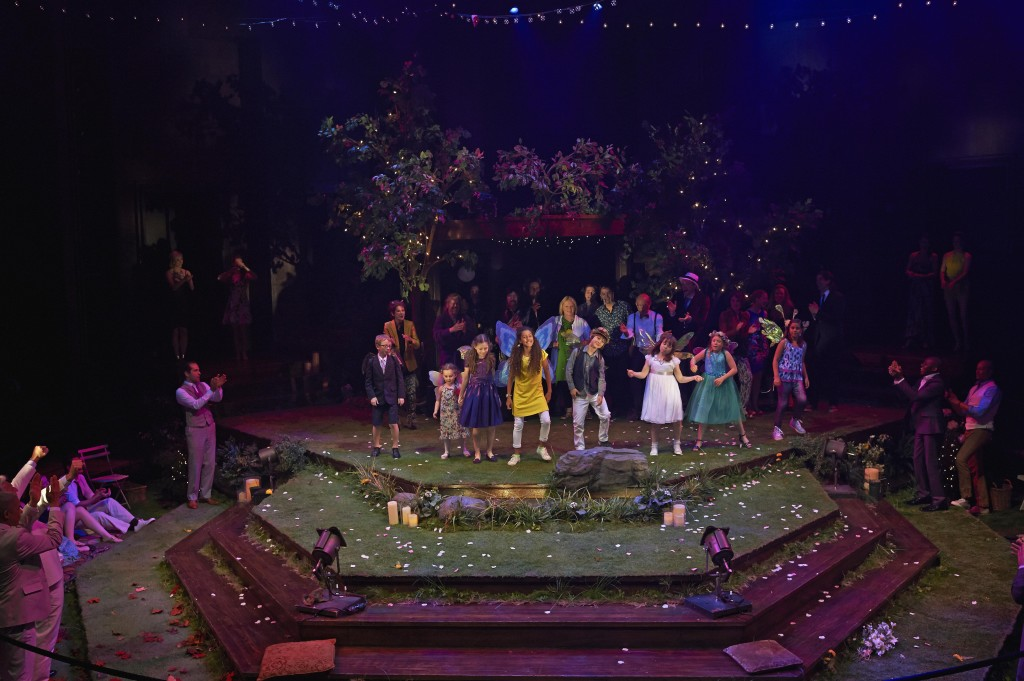 Members of the company in A Midsummer Night's Dream. Photo by Michael Cooper.