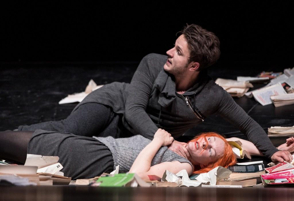 Hamlet, Ophelia, and the books