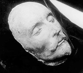 Shakespeare Death Mask | Stanley Wells | 2/09/2010