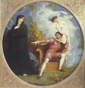 One of The Shakespeare Birthplace Trust's oil paintings