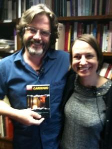 R.S.C. Director, Gregory Doran, and Professor Tiffany Stern