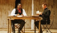Iago (right) is no friend to Othello