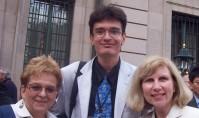 Krystyna Kujawinska (Poland) Irene Makaryk (Canda) Dmytro Drozdovskyi (Ukraine) in Prague)