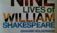 Graham Holderness's new book
