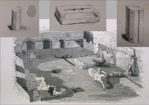 James Orchard Halliwell-Phillipps's 1860s dig