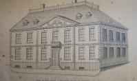 New Place in 1759, just before demolition....
