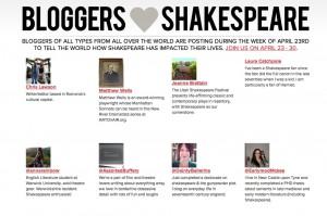 Happy Birthday Shakespeare 2012