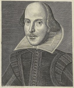 Martin Droeshout's Engraving of Shakespeare for the 1623 Folio