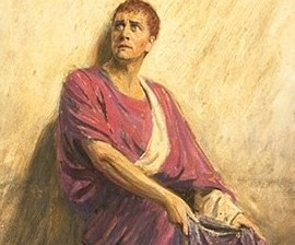 Herbert Beerbohm Tree as Mark Antony