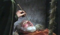 Sir Anthony Quayle as Falstaff in Orson Welles's 'Chimes at Midnight'