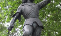 Richard III in Castle Gardens