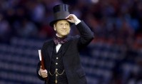 Sir Kenneth Branagh at the Olympics Opening Ceremony