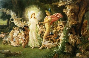 How Did They Cast The Fairies In A Midsummer Night S Dream Blogging Shakespeare