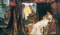 'A Vision of Cleopatra' by Lawrence Alma-Tadema