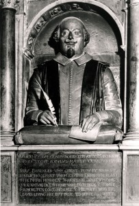 Shakespeare's Monument in Holy Trinity Church