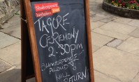 Celebrating Tagore's Birthday at Shakespeare's Birthplace