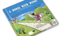 A Horse With Wings and other songs for children sung by characters from Shakespeare Words and Music by Daeshin Kim, Illustrations by Sohyun An Kim