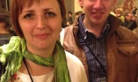 Bogdin Korneljuk and Daria Moskvitinia