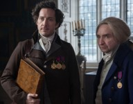 Programme Name: Jonathan Strange & Mr Norrell - TX: n/a - Episode: Ep4 (No. 4) - Picture Shows: (L-R) Jonathan Strange (BERTIE CARVEL), Mr Norrell (EDDIE MARSAN) - (C) JSMN Ltd - Photographer: Matt Squire